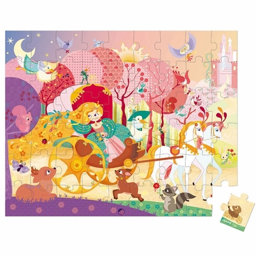 Janod Princess & Coach Puzzle - 54 Pcs