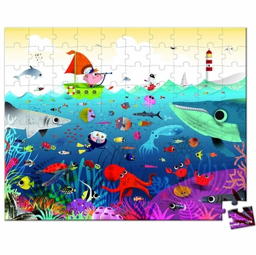 Janod Underwater World 100 Pc Puzzle