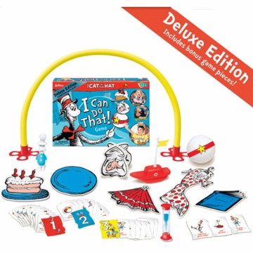 Dr. Suess The Cat in The Hat - I Can Do That! Deluxe Edition Game