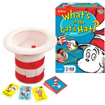 Dr. Suess The Cat in The Hat - What's In The Hat Game