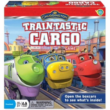 Chuggington - Traintastic Cargo Game