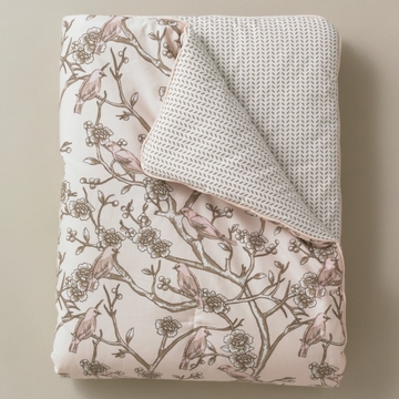 DwellStudio Vintage Blossom Blush Play Blanket
