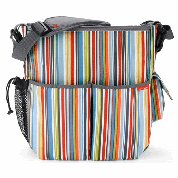 Skip Hop Duo Diaper Bag in Metro Stripe