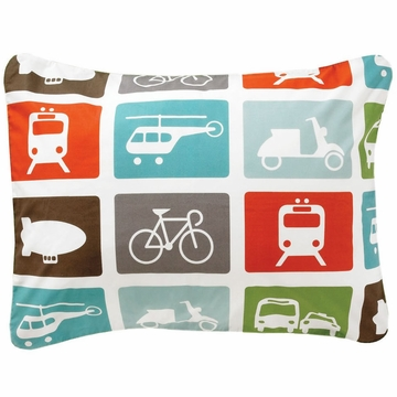 DwellStudio Transportation Multi Single Standard Sham
