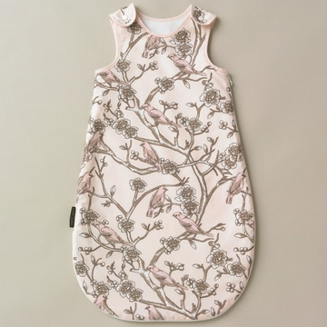 DwellStudio Vintage Blossom Blush Night Sack- Flannel