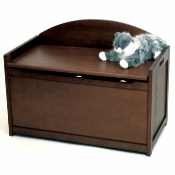 Lipper International Childs' Toy Chest 598WN Walnut
