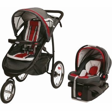 Graco Travel System Connect Snug 35 Elite - Chili Red