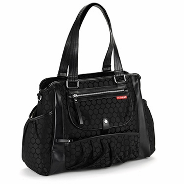 Skip Hop Studio Day-To-Night Diaper Tote - Black Dot