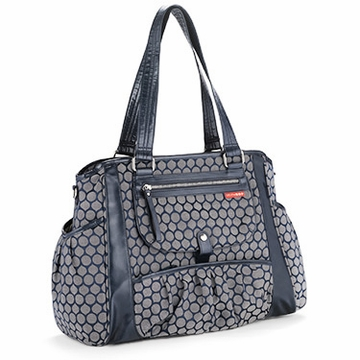Skip Hop Studio Day-To-Night Diaper Tote - Indigo Dot