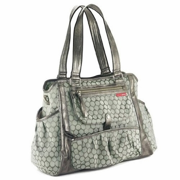 Skip Hop Studio Day-To-Night Diaper Tote - Pewter Dot