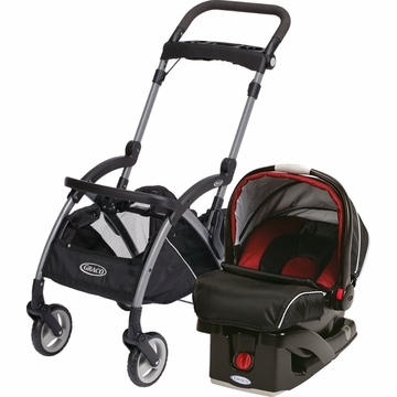 Graco Snugride Click Connect Infant Car Seat and Frame Bundle - Lyric