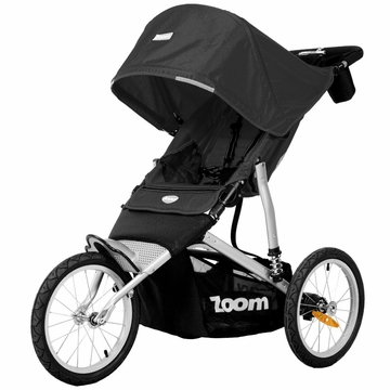 Joovy Zoom ATS Jogging Stroller in Black