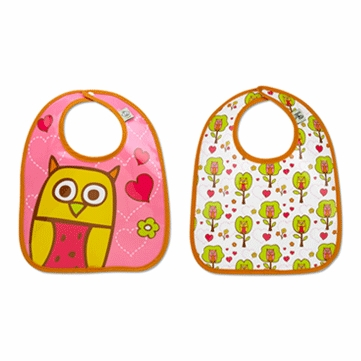 Sugar Booger Hoot! Mini Bib Gift Set - 2 Pack