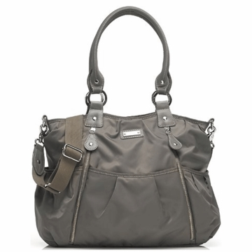 Storksak Olivia Diaper Bag in Grey