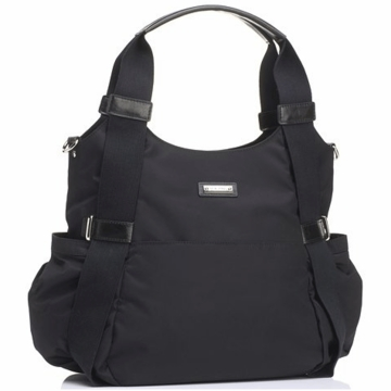 Storksak Tania Bee Diaper Bag in Black