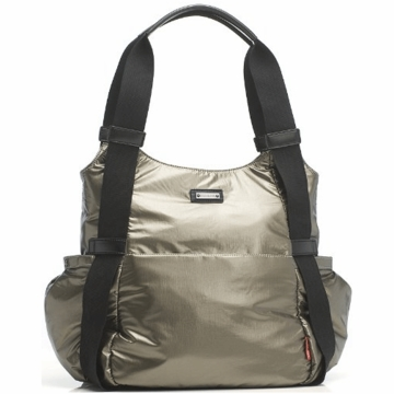 Storksak Tania Diaper Bag in Graphite