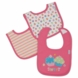 Gerber Girl 3 Pack Interlock Dribbler Bibs - Little Sweetie