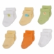 Gerber Neutral 6 Pack Variety Socks - 3-6 Months