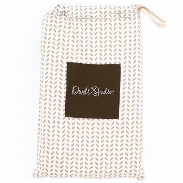 DwellStudio Chevron Chocolate Standard French Back Case
