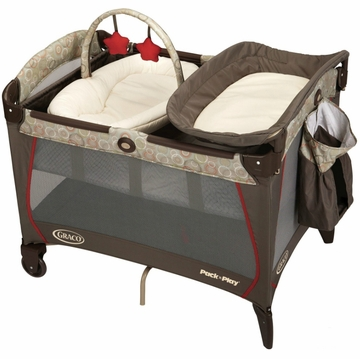 Graco Pack 'n Play Playard with Newborn Napper Station - Forcaster