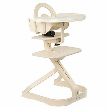 Svan Signet Complete High Chair - Whitewash