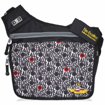Diaper Dude Beatles Yellow Submarine Diaper Bag - All You Need is Love