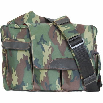 Diaper Dude DD Flap Messenger II Bag in Camo