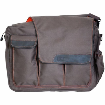 Diaper Dude Messenger II Diaper Bag in Brown