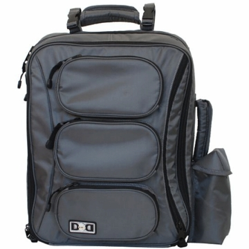 Diaper Dude Convertible Messenger/Backpack - Grey