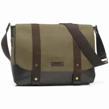 Storksak Aubrey Diaper Bag in Khaki/Chocolate