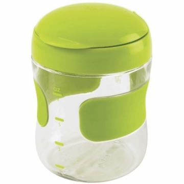 OXO Tot Large Flip Top Snack Cup in Green