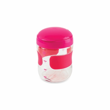 OXO Tot Large Flip Top Snack Cup in Pink