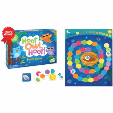 Peaceable Kingdom Hoot Owl Hoot! Cooperative Board Game