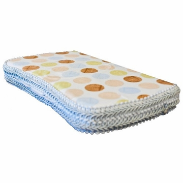 Tickle Toes Ditto Dot Blue Hard Wipes Case