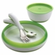OXO Tot 4 Piece Feeding Set in Green