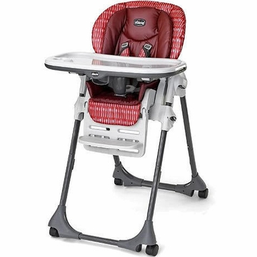 Chicco Vinyl Polly High Chair - Element
