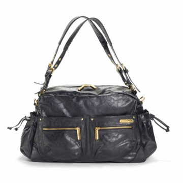 Timi & Leslie Jessica Designer Diaper Bag in Black