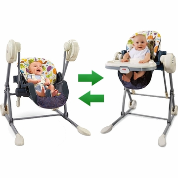 Fisher-Price Swing to High Chair T2684