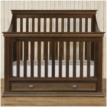 Franklin & Ben Mason Crib - Rustic Brown