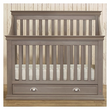 Franklin & Ben Mason Crib - Weathered Grey