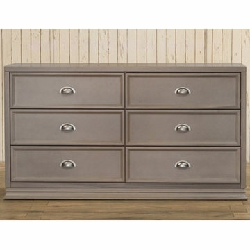 Franklin & Ben Mason Double Wide Dresser - Weathered Grey