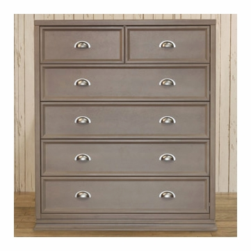 Franklin & Ben Mason Tall Dresser - Weathered Grey