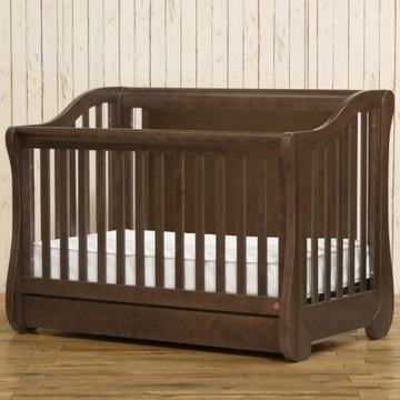 Franklin & Ben Mayfair Crib in Rustic Brown