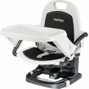 Peg Perego Rialto Booster Seat - Licorice Black