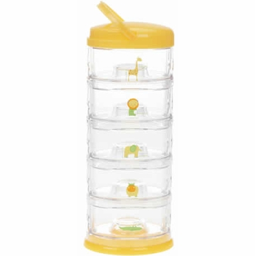 Innobaby Packin' Smart Five Tier Zoo Animal Series - Mango Sorbet