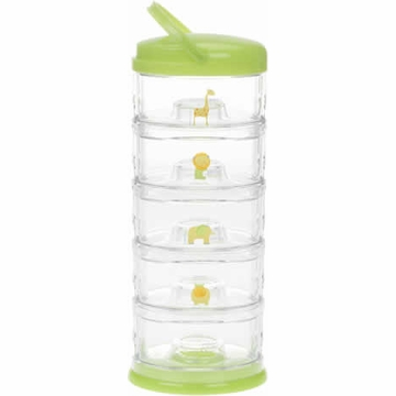 Innobaby Packin' Smart Five Tier Zoo Animal Series - Lime Sorbet