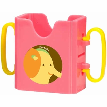 Innobaby Packin' Smart Keepaa Drink Holder - Strawberry Sorbet
