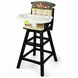 Summer Infant Fox & Friends Classic Comfort Wood High Chair