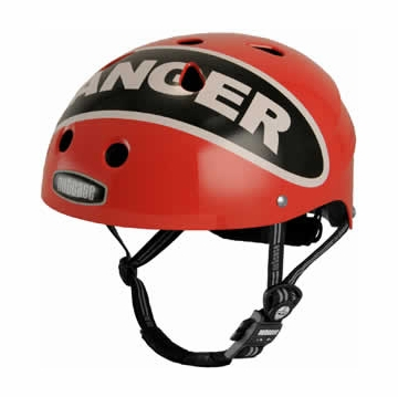 Nutcase Little Nutty Danger Red Street Helmet