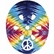 Nutcase Little Nutty Tie Dye Peace Street Helmet